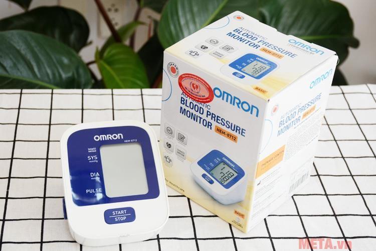 Máy đo huyết áp bắp tay HEM-8712 - ỐNG NGHE Y TẾ ™