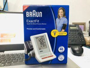 máy đo huyết áp braun